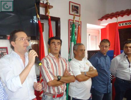 El presidente de la Peña, en el uso de la palabra.