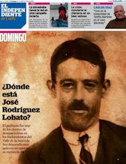 Portada de El Independiente de Cädiz con el reportaje de una de las víctimas de la Sauceda.