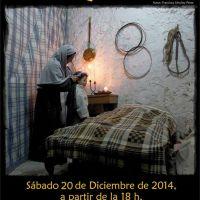Cartel del Belén Viviente, evento aplazado hasta el 20 de diciembre.