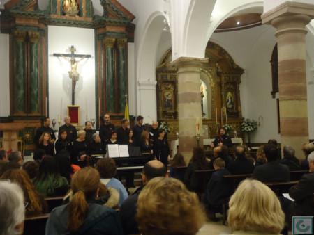 Concierto del Coro de Cámara del colegio San Felipe Neri de Cädiz, dirigido por Daniel Borrego.