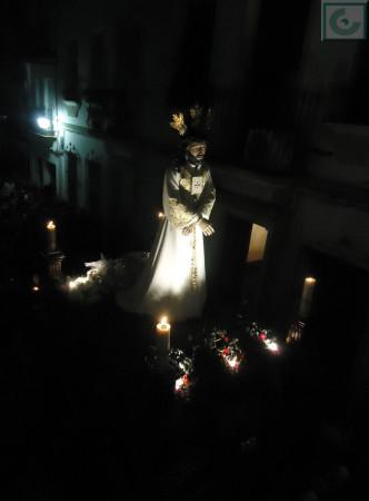 El Cautivo, en la Semana Santa de 2014.