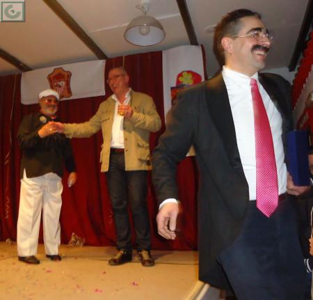Luis Miguel Fernández, Jerónimo Gómez y Juancris.