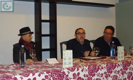 Benitez Ariza, entre José Mateos y José Anotnio Martel.