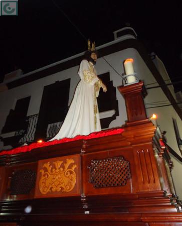 El Cautivo, en procesión.