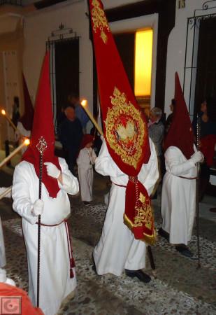 Penitentes de Jesús Cautivo.