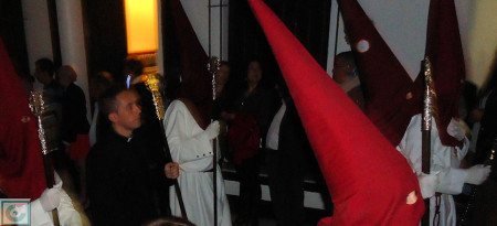 El párroco, Roberto Romero.