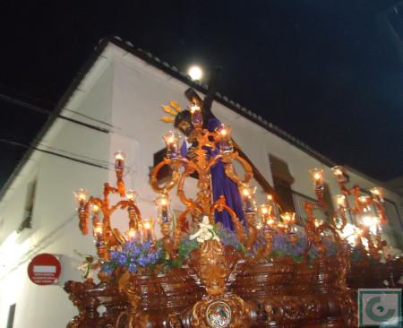 El Nazareno, bajo la luna llena.