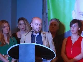 José Antonio Bautista, en la presentación de la candidatura del PA.