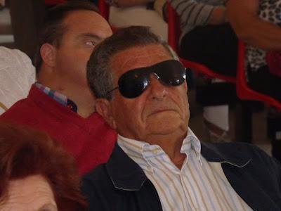Juan Moreno Venegas, distinguido por su trayectoria como viajante (Foto: Paco Solano).