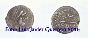Fotografía del catalogo de subastas donde apareció la tercera moneda de Ocvri.