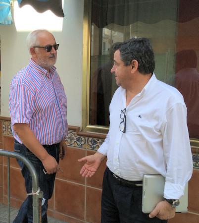 Manuel Toro y José Loaiza.