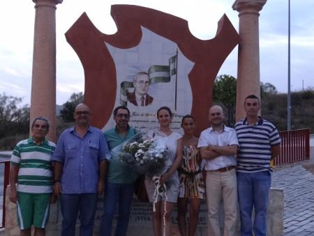 Participantes en el homenaje (Foto: Levántate Andalucía).Participantes en el homenaje (Foto: Levántate Andalucía).