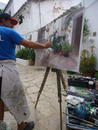 Uno de los participantes.