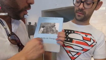Captura del programa de EuskalTelebista.