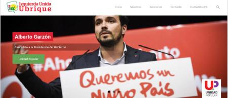 Alberto Garzón, de IZquierda Unida, candidato de Unidad Popular a la presidencia del Gobierno.