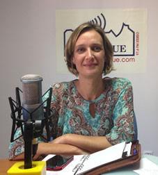 La alcaldesa, ISabel Gómez (Foto: Radio Ubrique).