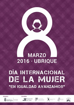 Cartel del Día de la Mujer.