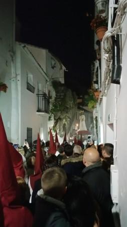El Cautivo, por el Peñón de la Becerra (Foto: José Mateos Domínguez).