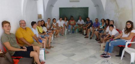 Participantes en el taller de primeros auxilios.
