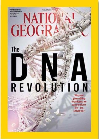 Portada de la revista National Geographic Magazine.