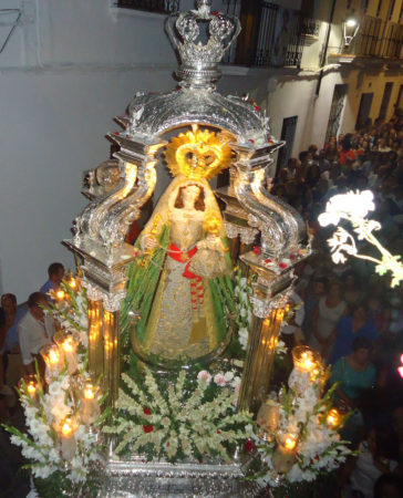 La Virgen de los Remedios.