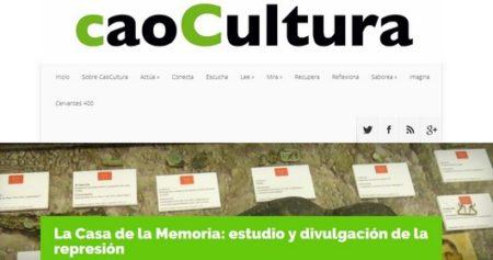Captura de la web CacoCultura.