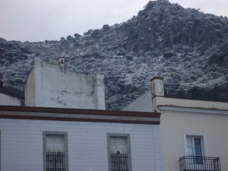 La montaña, desde La Plaza.