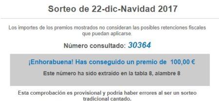 Información de Lotería Nacional.