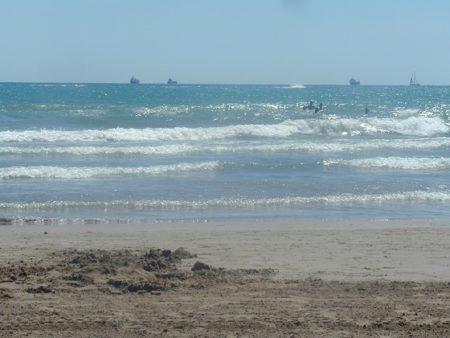 La playa, uno de los destinos turísticos favoritos.