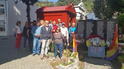 Homenaje a los republicanos represaliados de Ubrique.