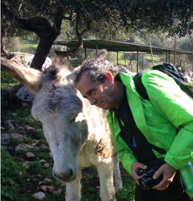 Manolo Cabello, defensor de los animales.