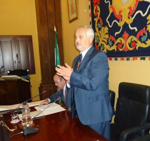 Manuel Toro, tras ser elegido alcalde