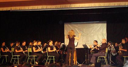 Concierto de la Banda Académica (Foto: Merci)