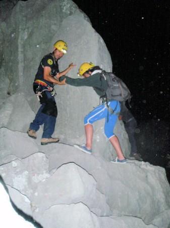 Rescate en Peñón Grande