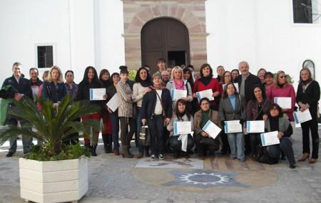 Participantes en los cursos.