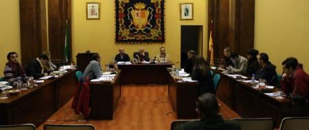 Pleno del Ayuntamiento de Ubrique del 28 de diciembre de 2011. Foto: http://www.iu-ubrique.org