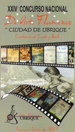 Cartel del XXIV Concurso Nacional de Arte Flamenco.