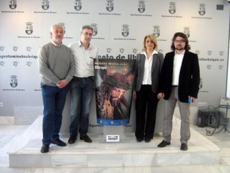 Manuel Toro, Olegario García, Josefina Herrera y Daniel Borrego.