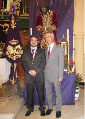 Daniel Borrego y Rafael Ramos.