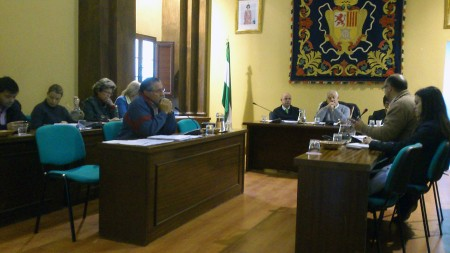 Pleno municipal del 30 de marzo de 2012.