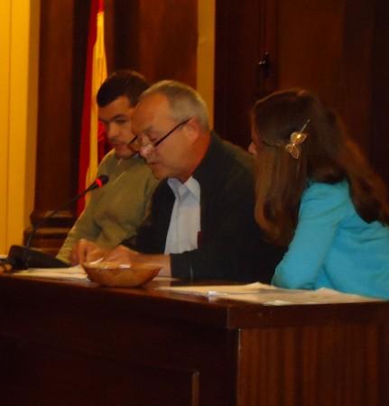 José Pino García lee su relato.