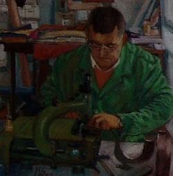 Otro de los pequeños cuadros de López Salas.
