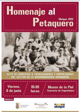 Cartel del Homenaje al Petaquero.