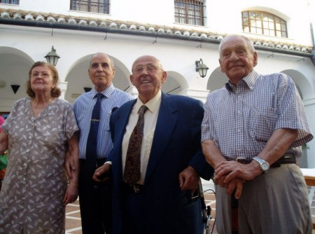 Distinguidos en la edición de 2012 del 'Homenaje al Petaquero'.