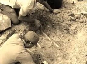 Las actuaciones arqueológicas de 2012 fueron precedidas por las catas de 2011.