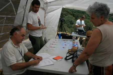 Registro de familiares que aportaron sus muestras de ADN.