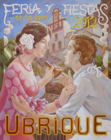 Cartel anunciador de la Feria, obra de José Antonio Martel.