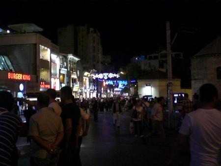 Taksim de madrugada