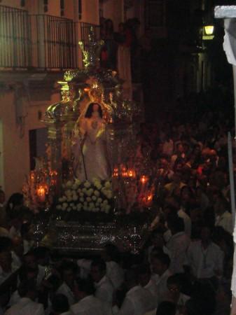 La Virgen de los Remedios, en rpocesión el día 8.