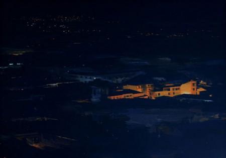 """""""La Noche"""", cuadro premiado."""